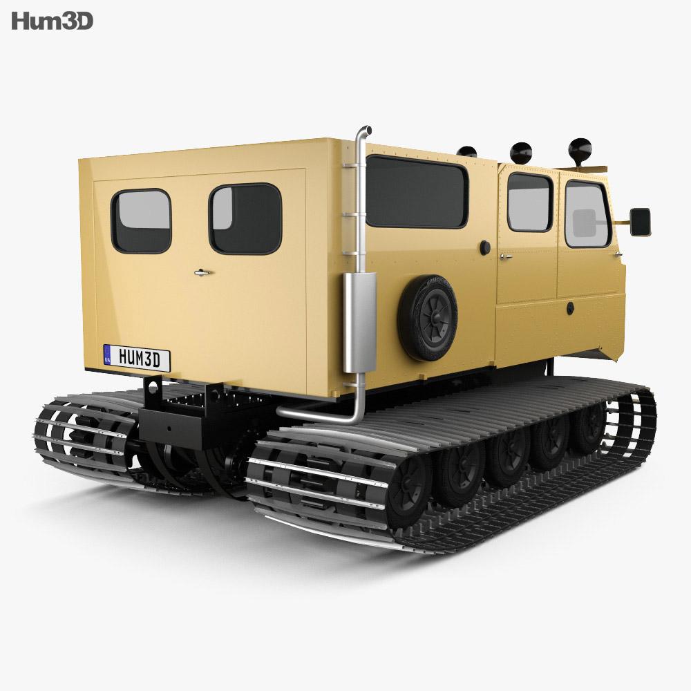 Thiokol Spryte 1200 Snowcat 2011 3d model