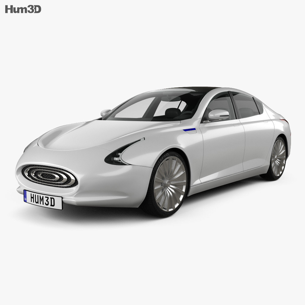 Thunder Power EV 2015 3d model