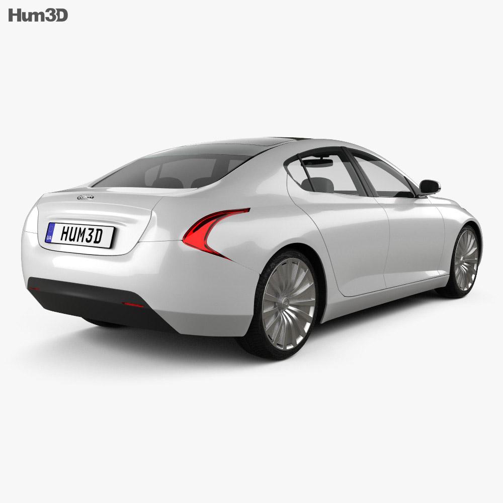 Thunder Power EV 2015 3d model