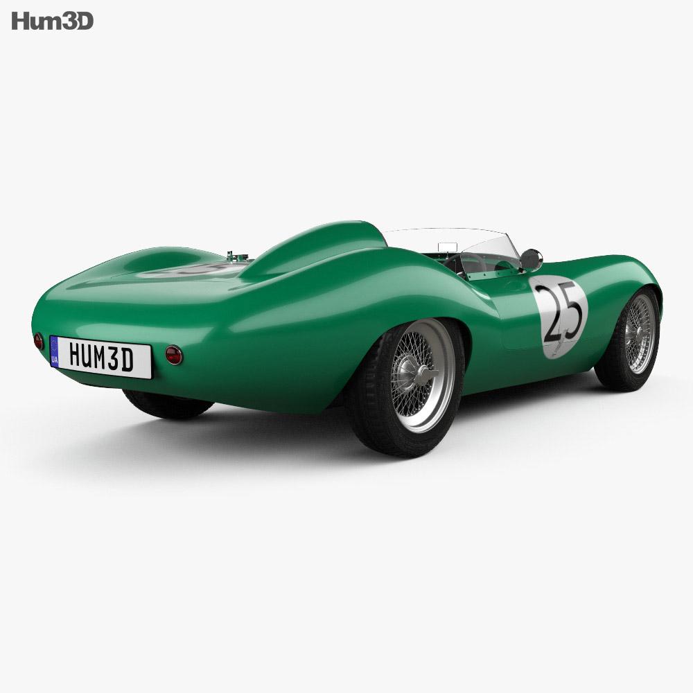 Tojeiro Climax 1958 3d model