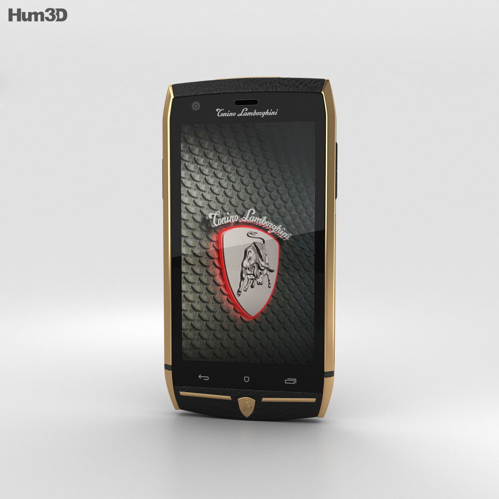 Tonino Lamborghini 88 Gold-Black 3d model