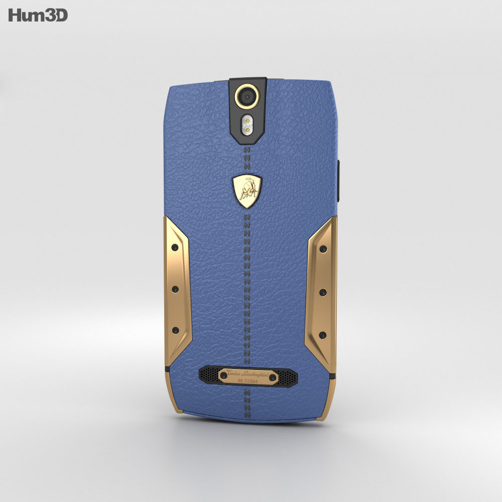 Tonino Lamborghini 88 Gold-Blue 3d model