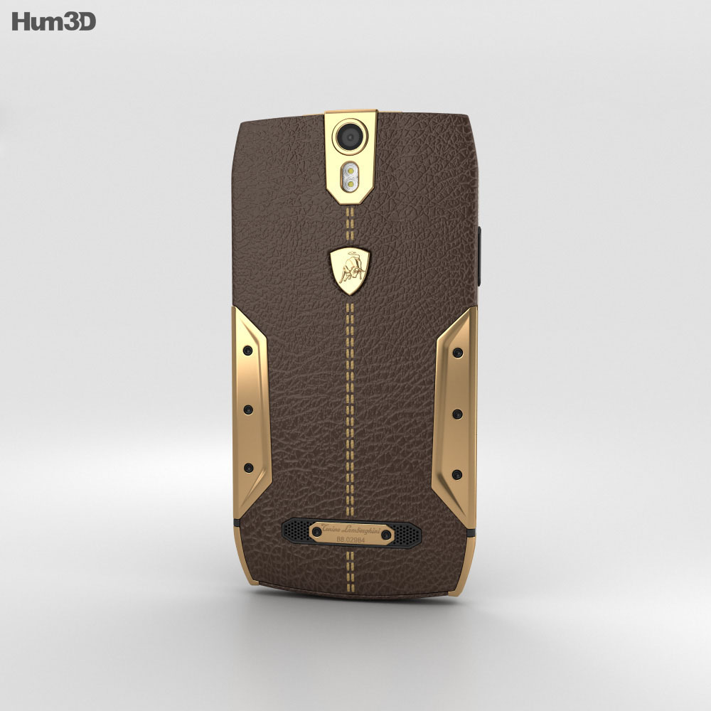 Tonino Lamborghini 88 Gold-Brown 3d model