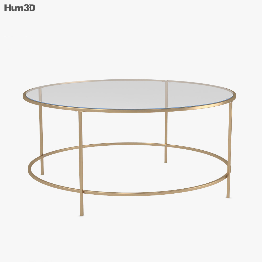 Better Homes And Gardens Nola Coffee Table 3D Model - Furniture On Hum3D