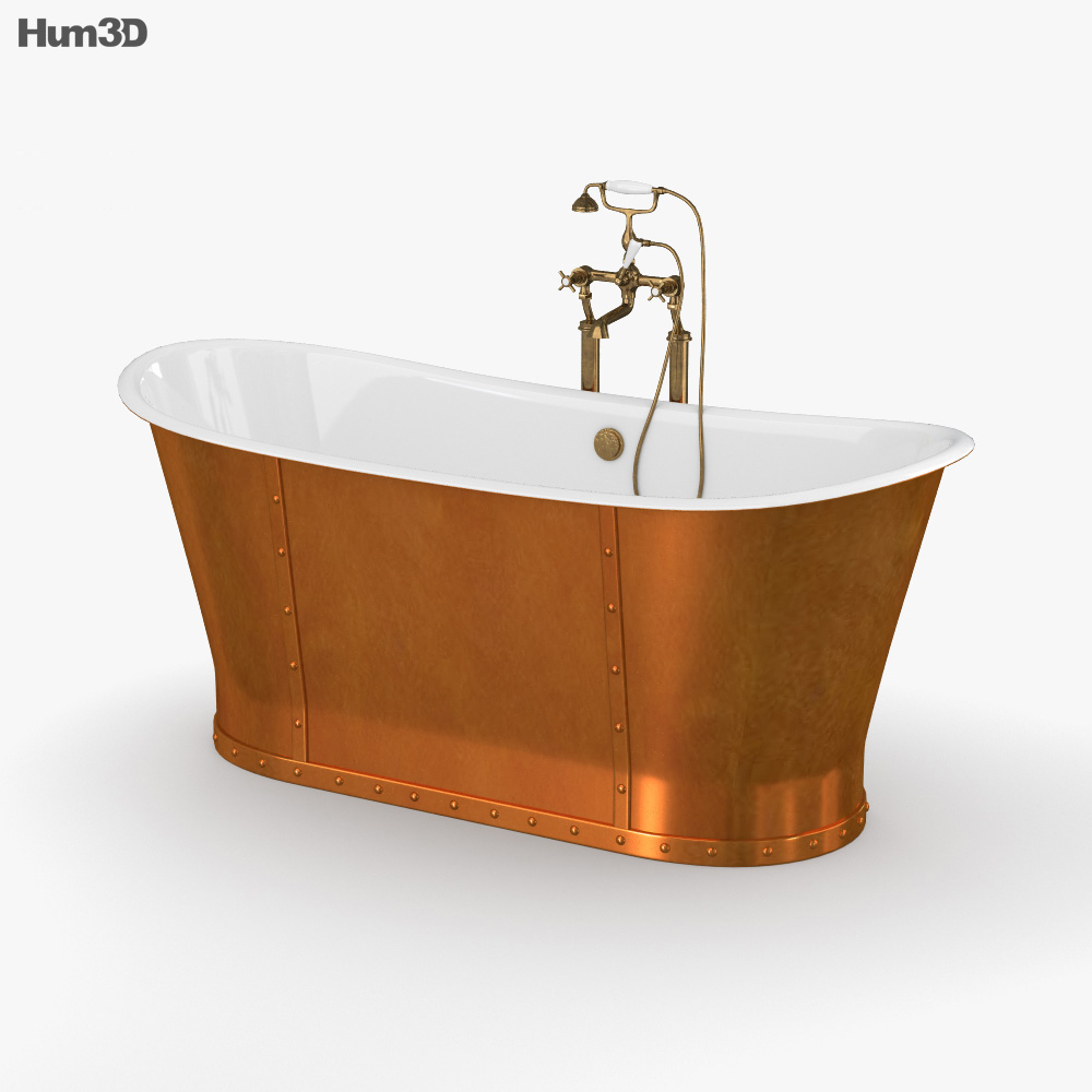 CP Hart Porcelanosa Greenwich Boat Bath 3d model