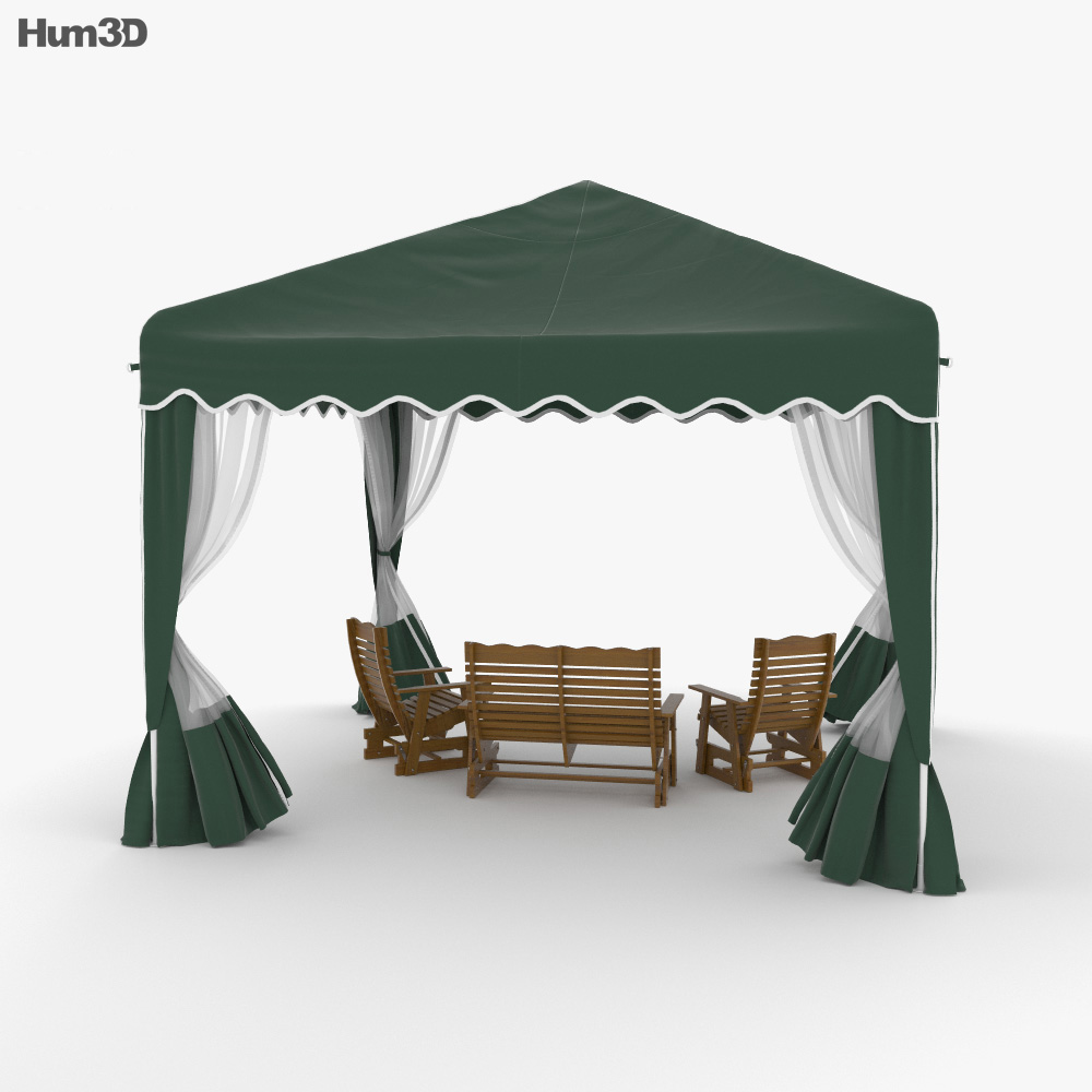 Canopy 3d model