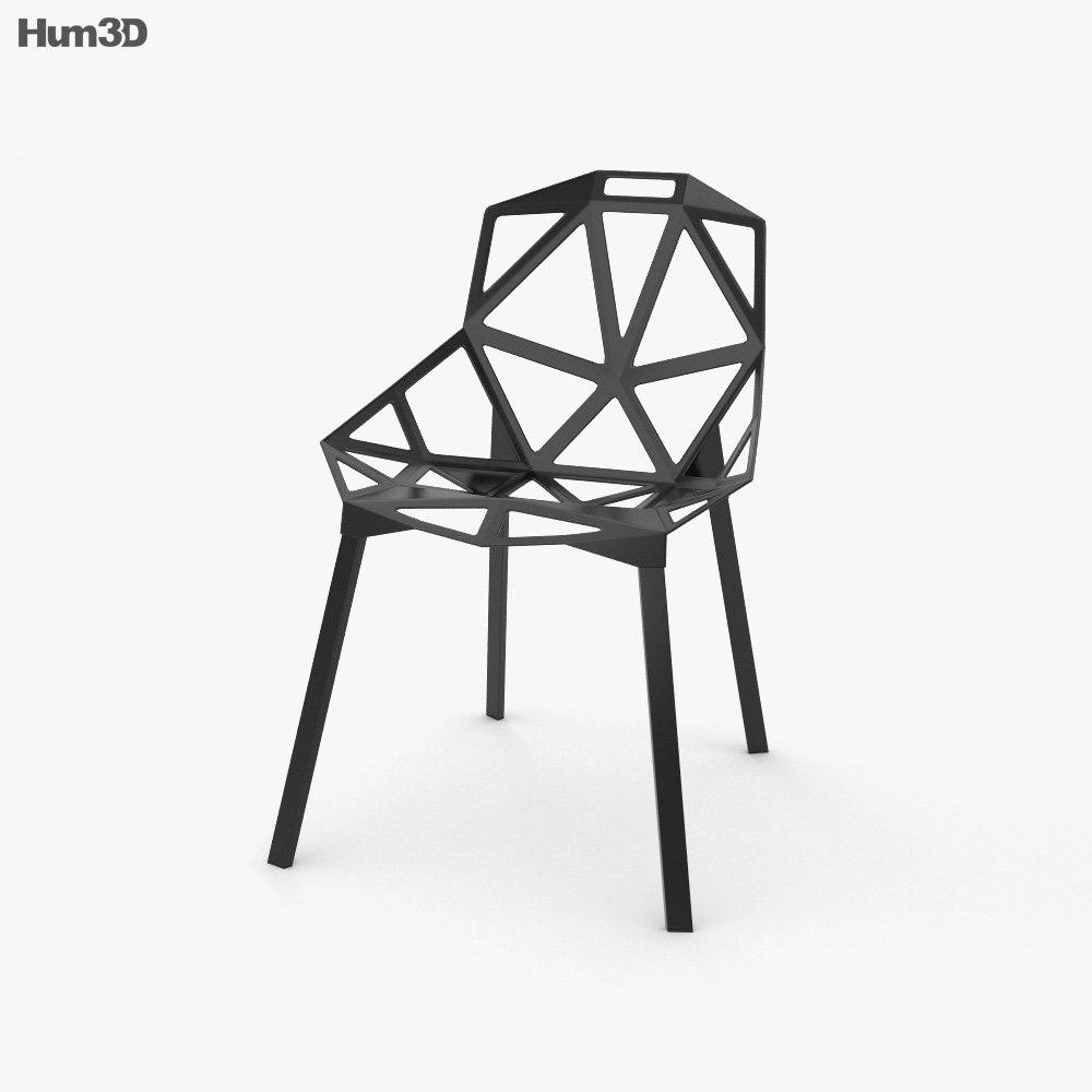 Chair One 3d model