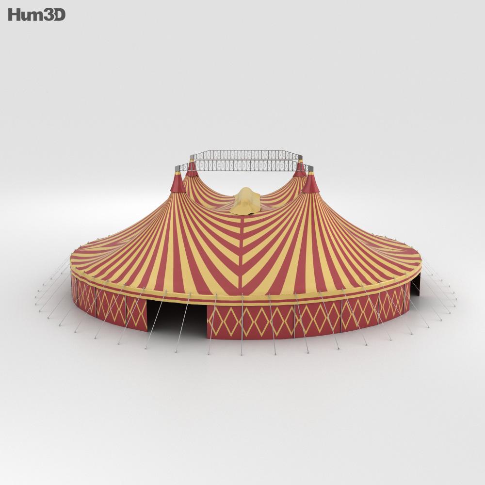 Circus Tent 3d model Circus Tent 3d model & Circus Tent 3D model - Hum3D