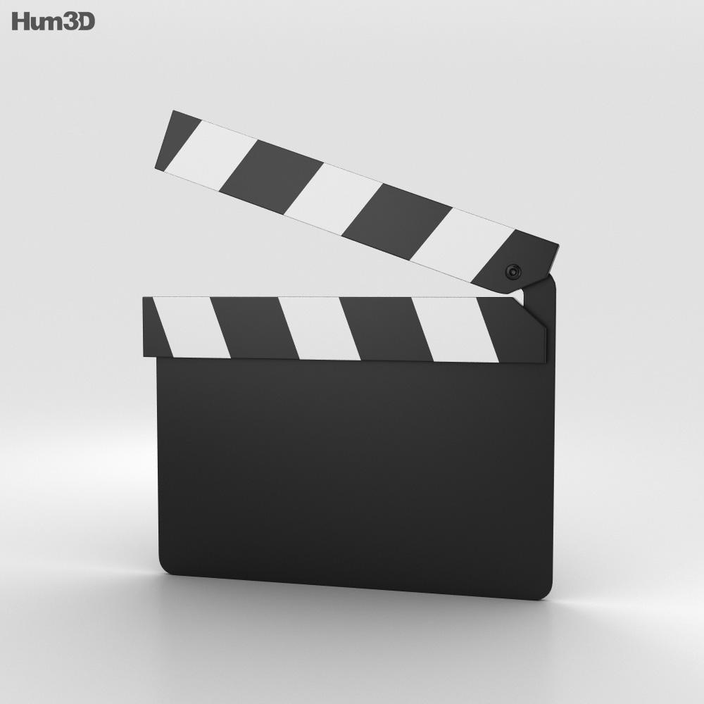 Clapperboard 3d model