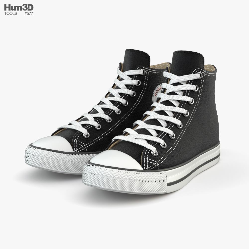 converse 3d model free