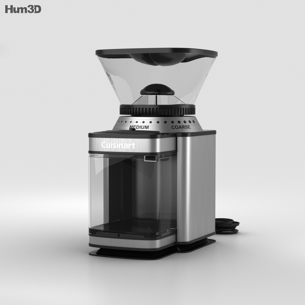 Cuisinart DBM-8 Supreme Grind Automatic Burr Mill 3d model