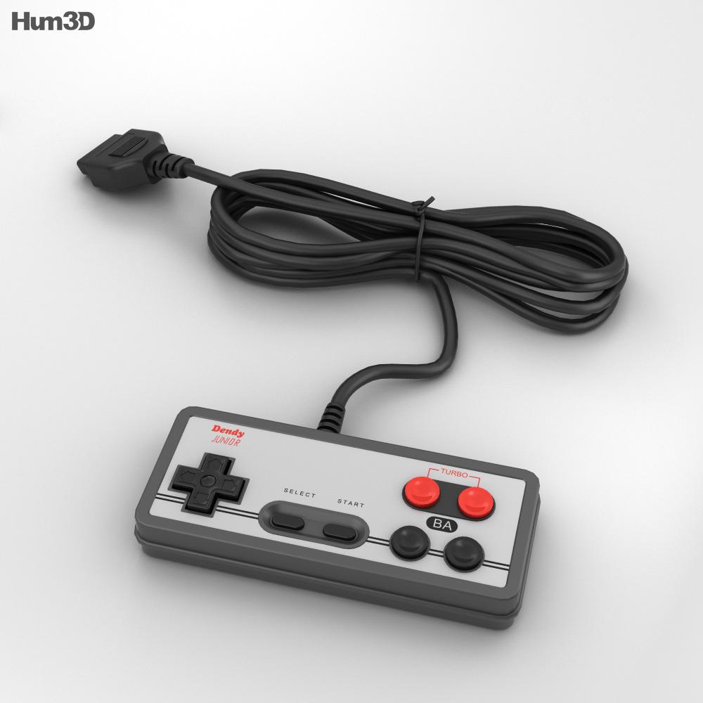 Dendy Controller 3d model