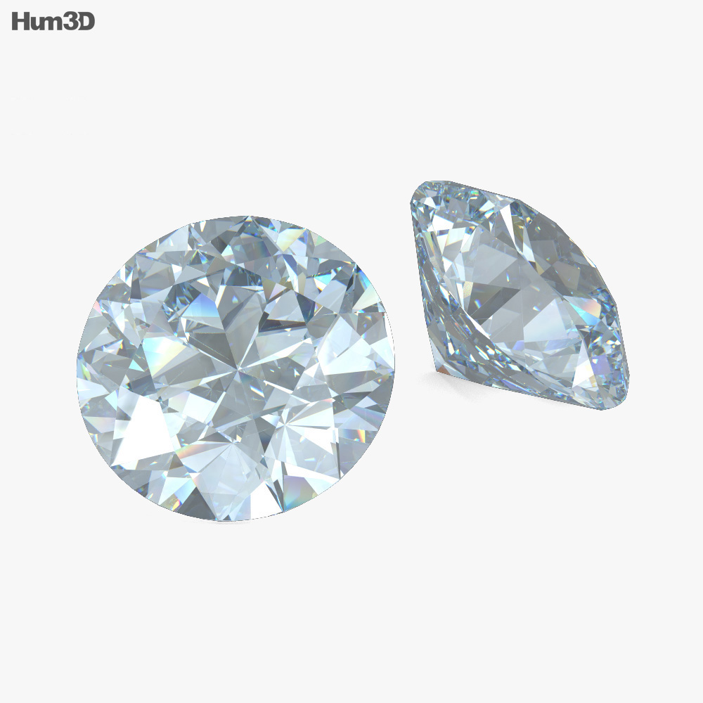 3D model of Diamond