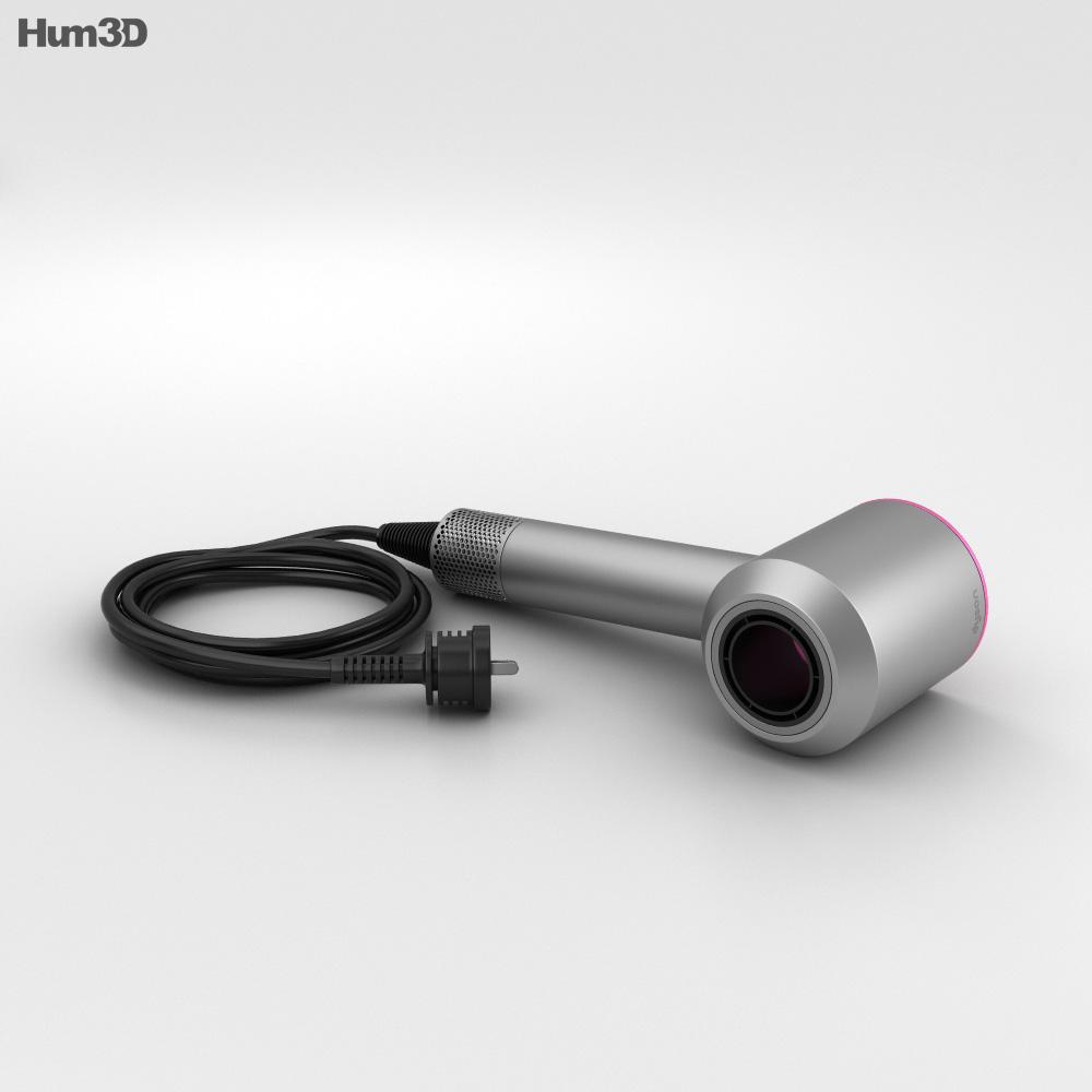 Dyson Supersonic ヘアドライヤー 3Dモデル