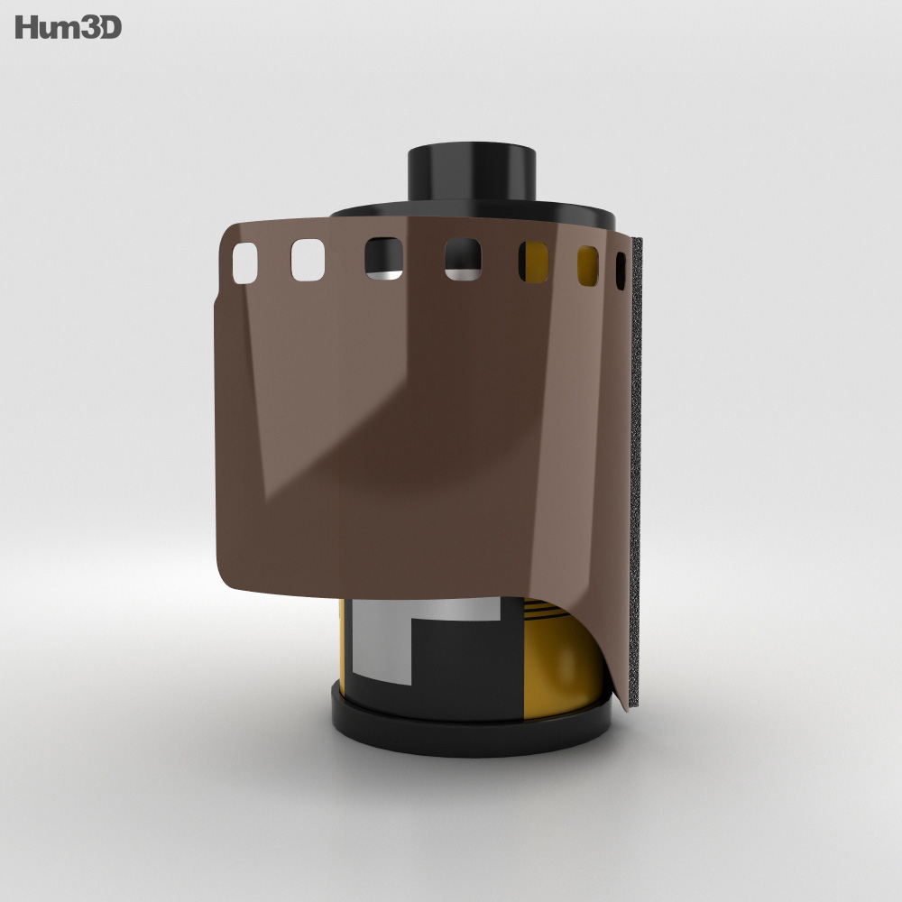 Film Roll 3d model