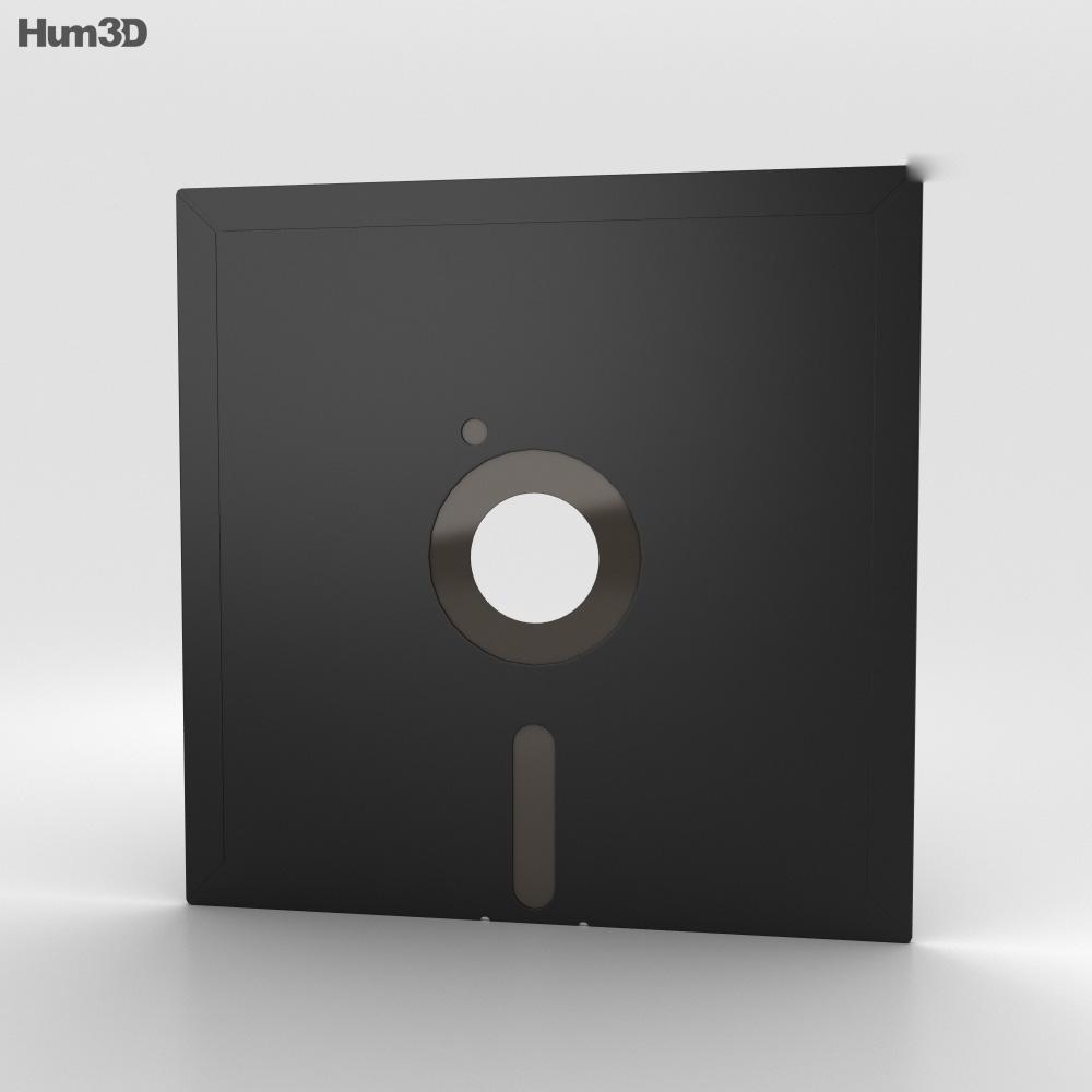 Floppy Disk 8 inch 3d model