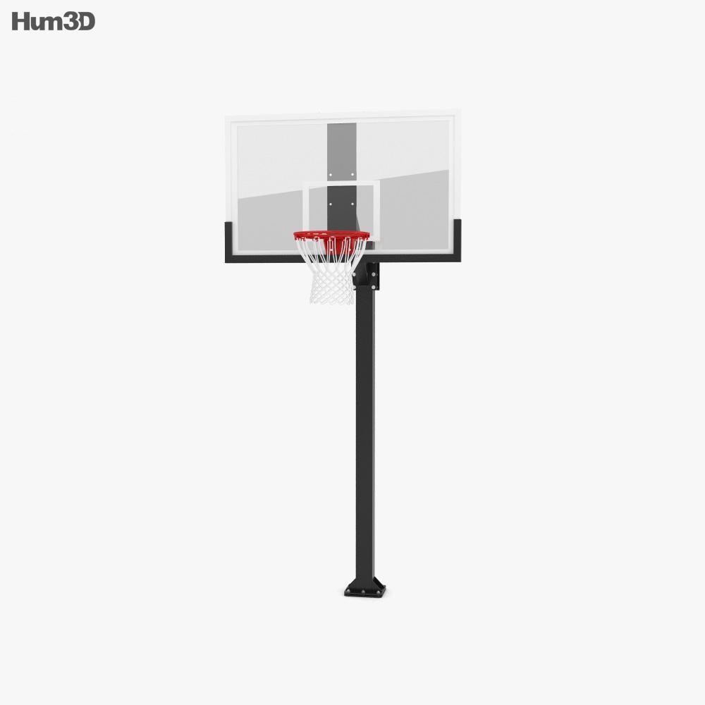 Hercules Fixed Basketball Hoop 3d model