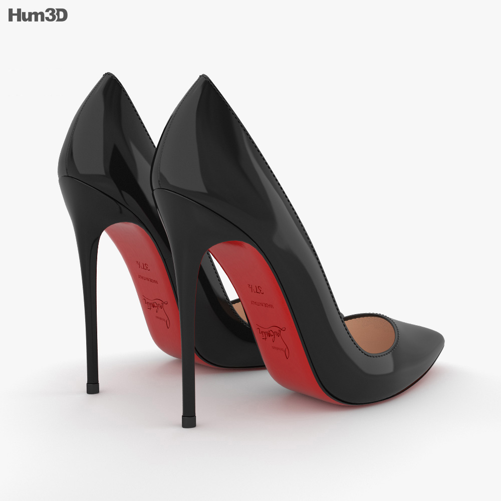 High Heels Shoes 3d model
