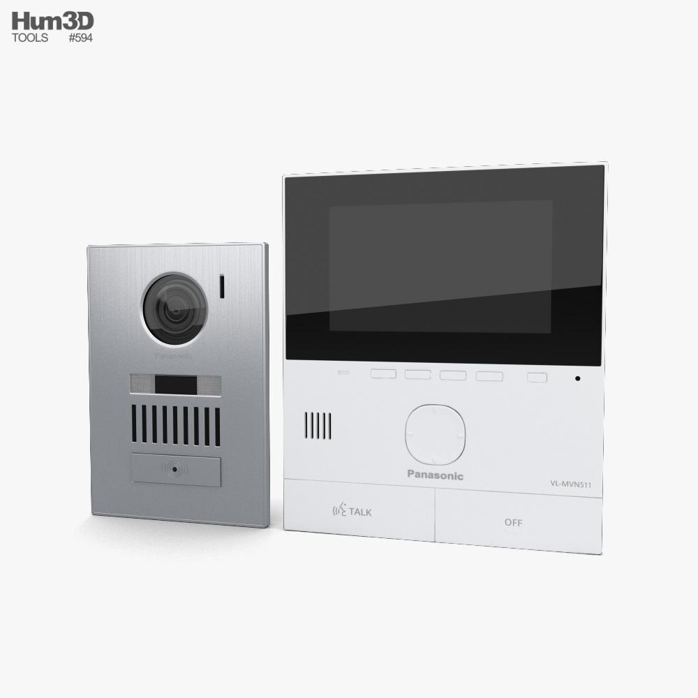 Intercom 3d model