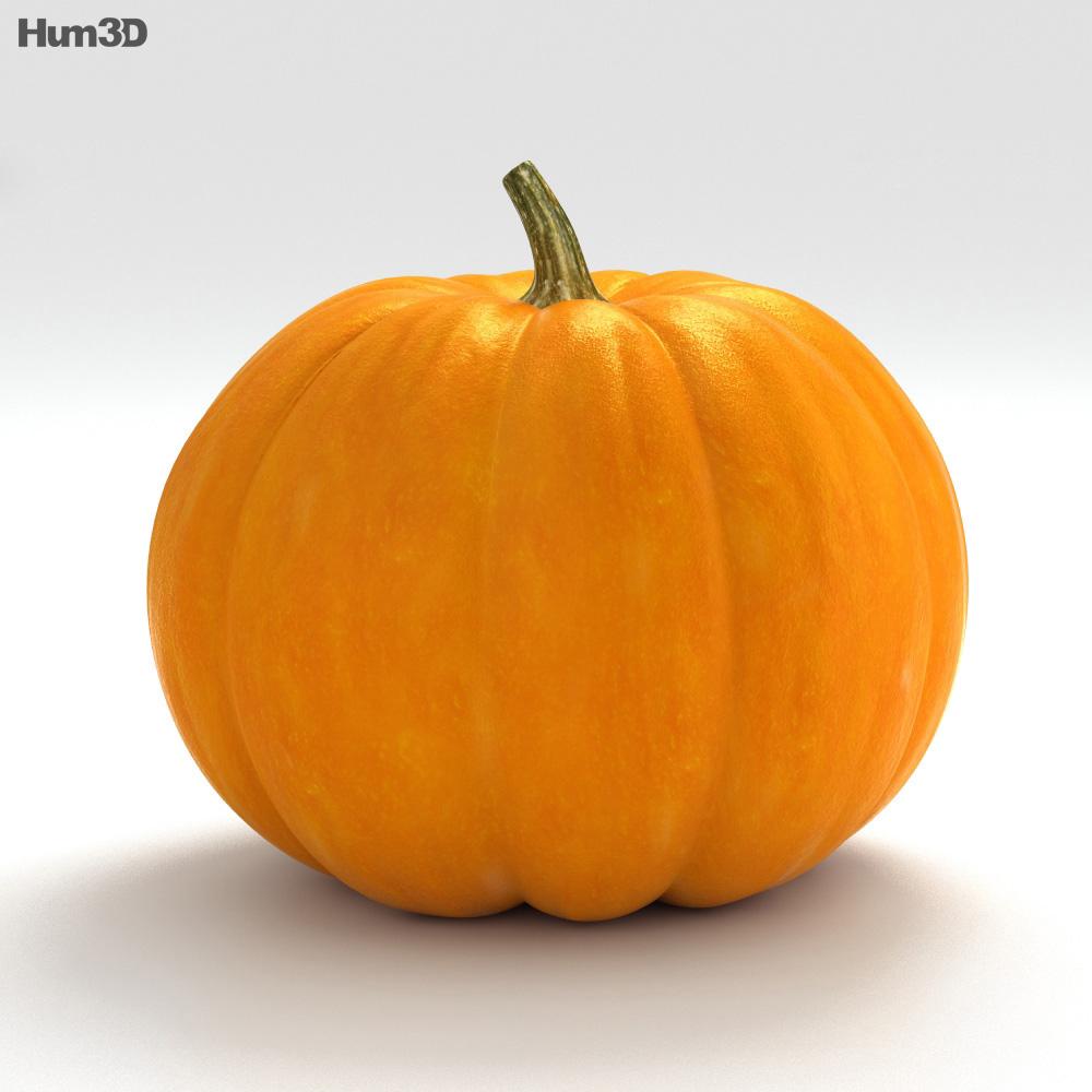 Jack-o'-Lantern Halloween 3d model