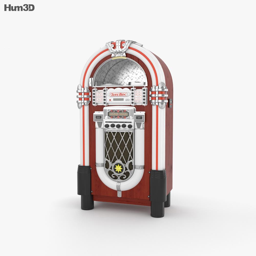 3D model of Jukebox