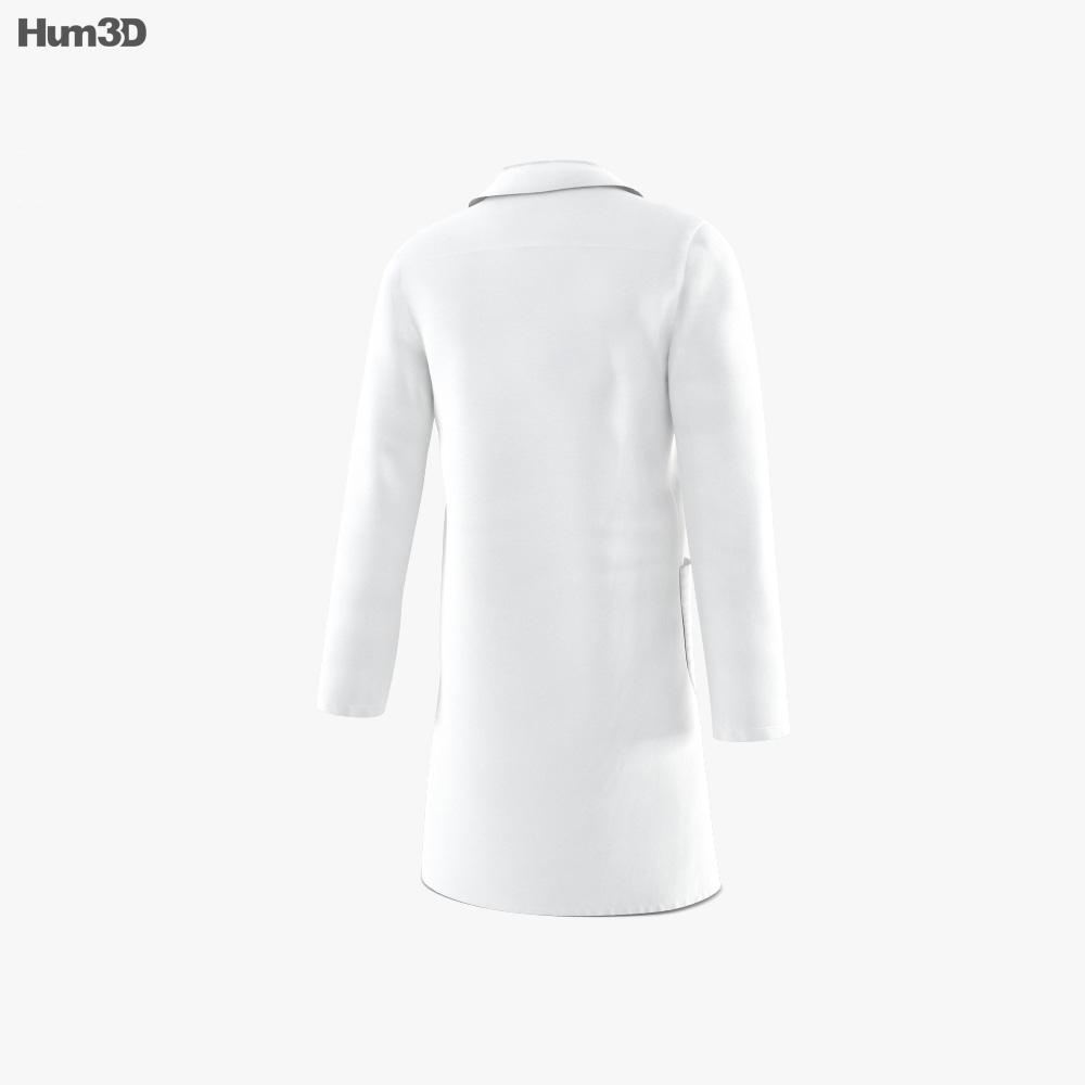 Lab Coat 3d model