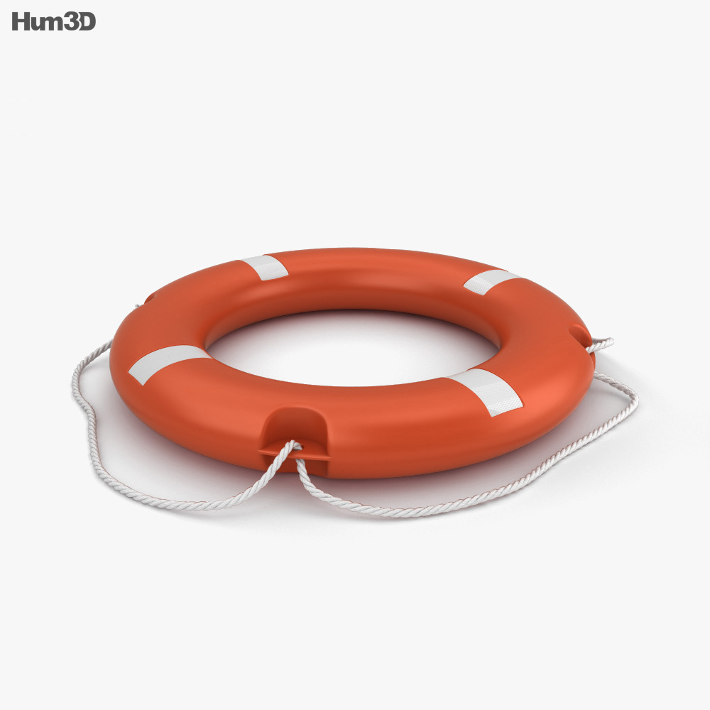 3D model of Lifebuoy