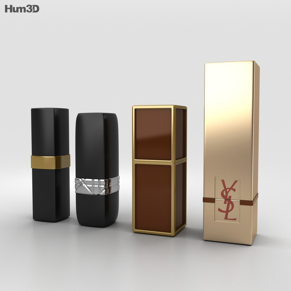 Lipsticks 3d model
