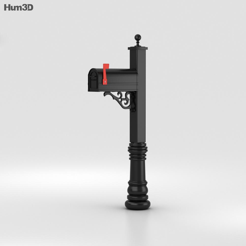 Mailbox 3d model