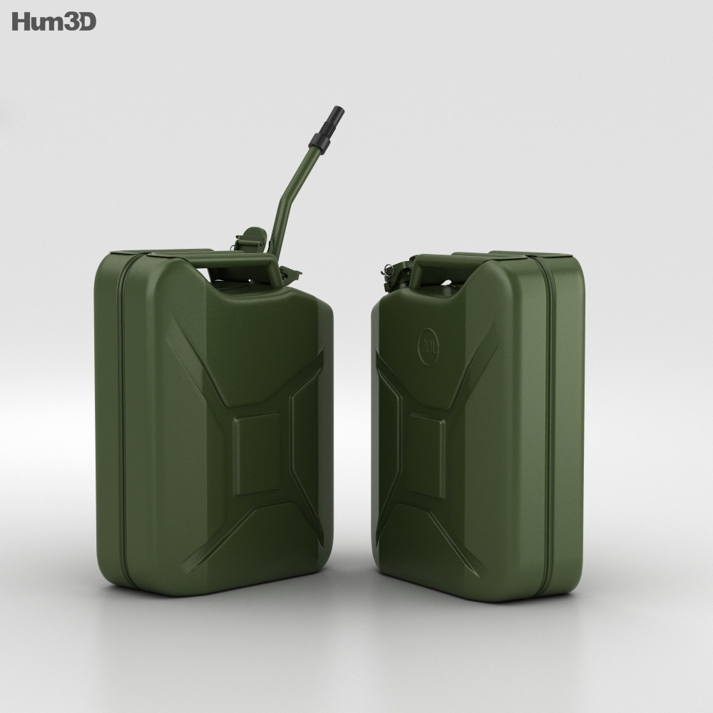 20L Jerry Can 3d model