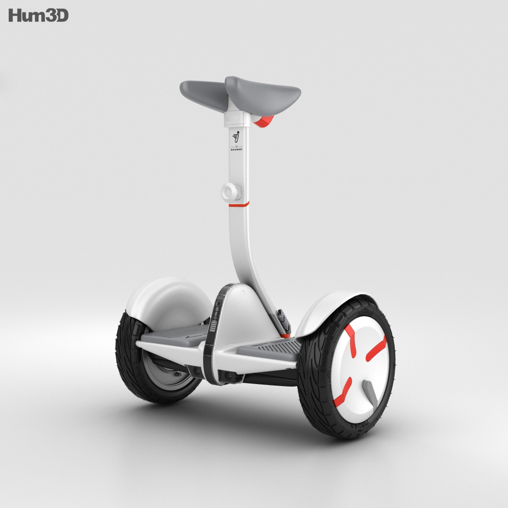 Ninebot By Segway Minipro 3d Model Humster3d