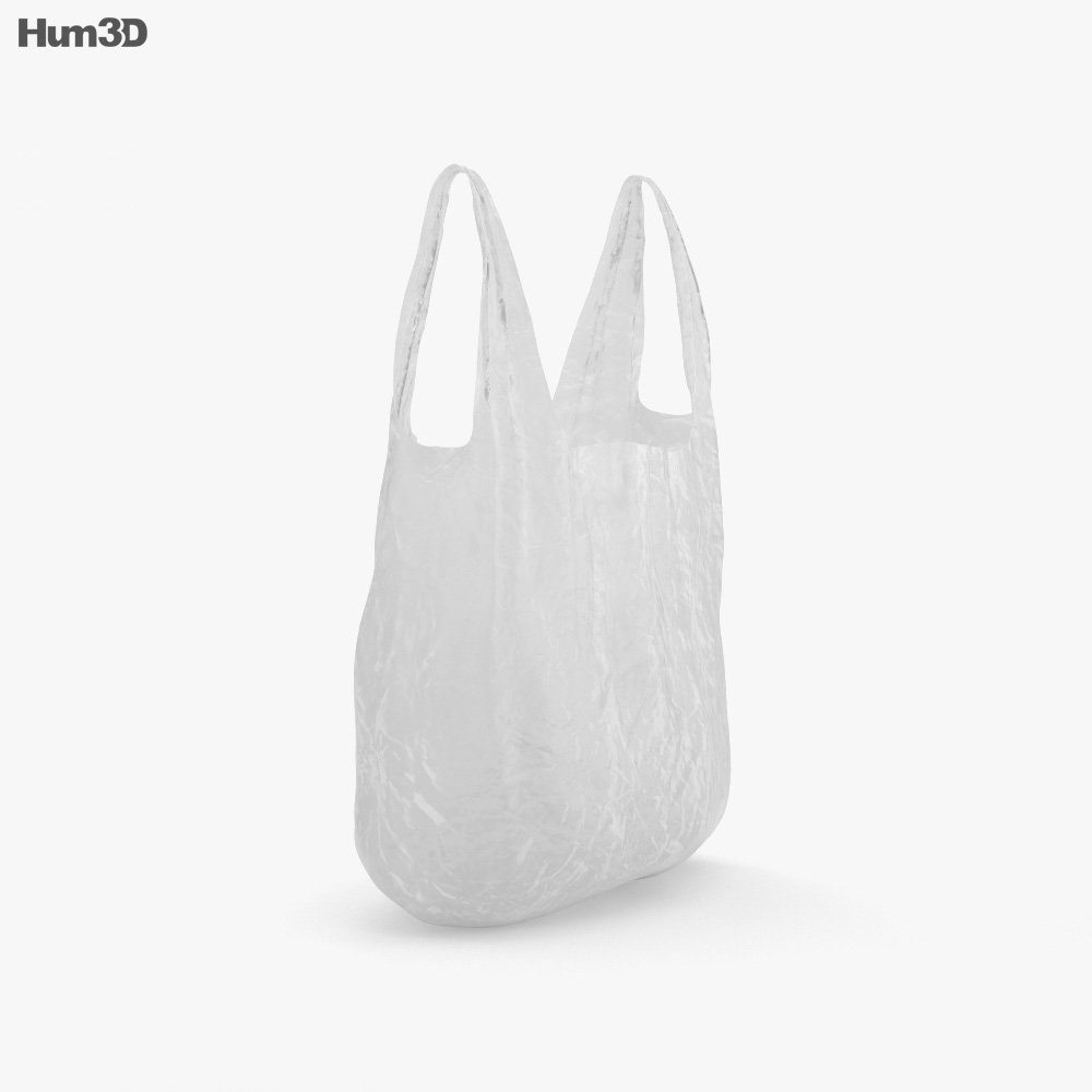 Plastic Bag 3d model