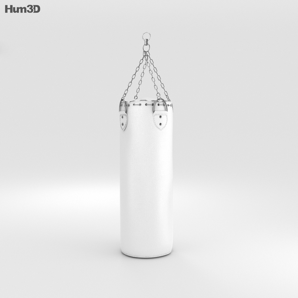 3D model of Punching Bag