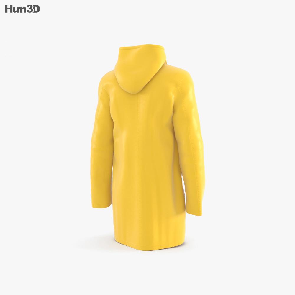 Raincoat 3d model