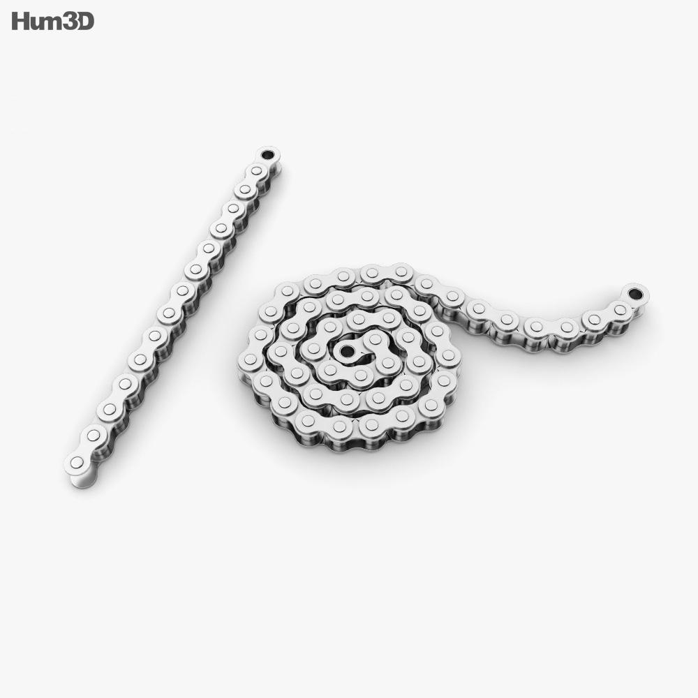 Roller Chain 3d model