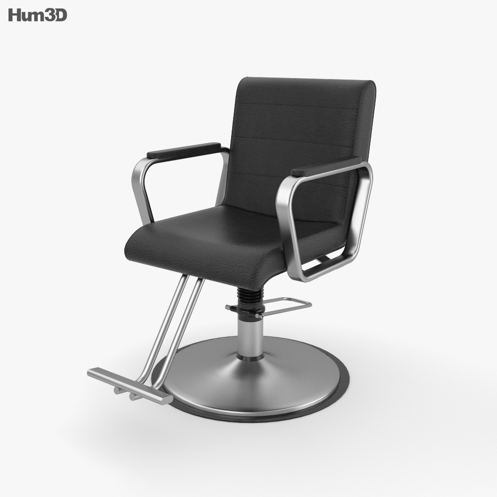 salon chair 3d model  furniture on hum3d