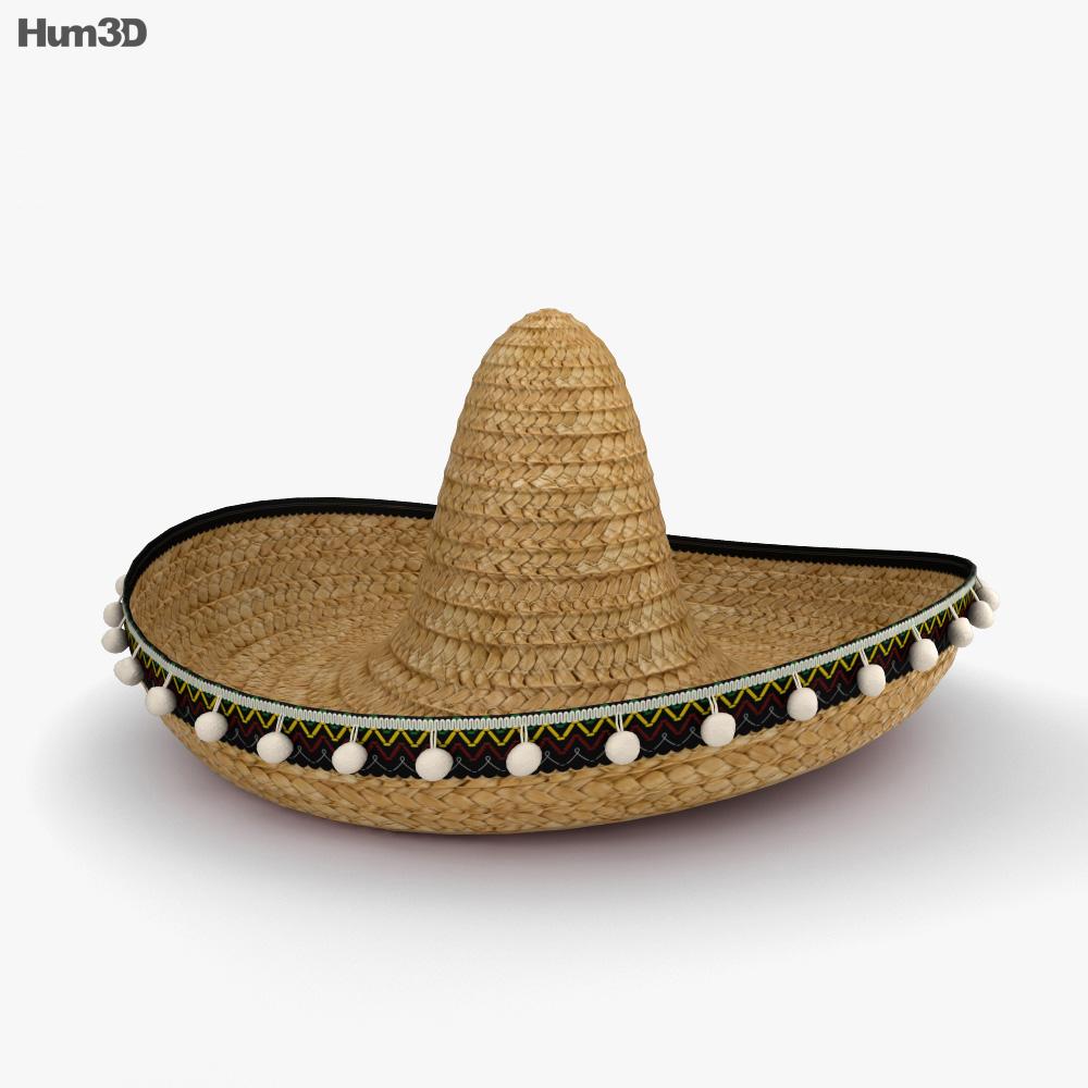 sombrero 3d model hum3d