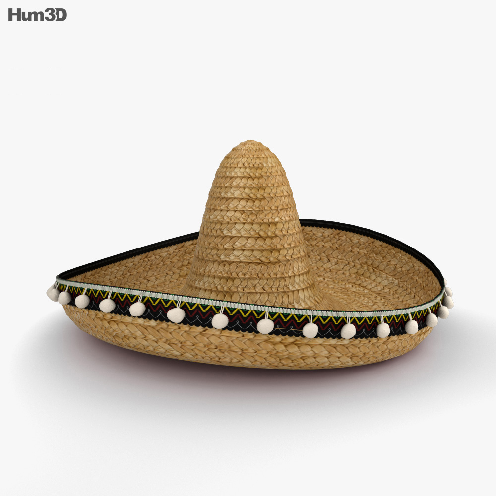 Sombrero 3d model