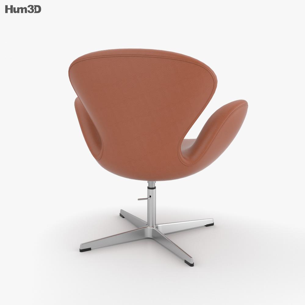 Swan Chair 3d model
