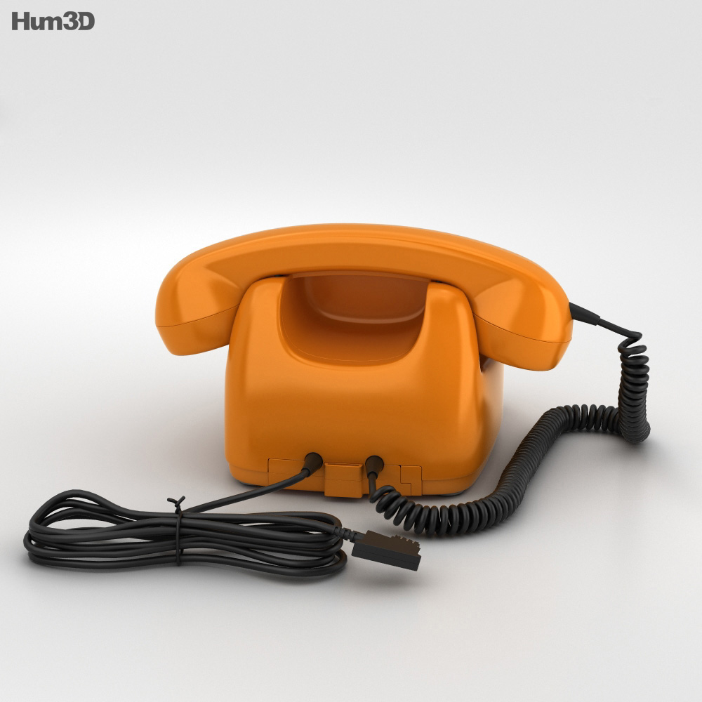 Telephone FeTAp 611 3d model