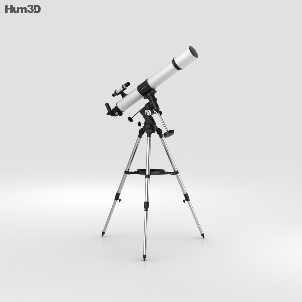 3D model of Telescope