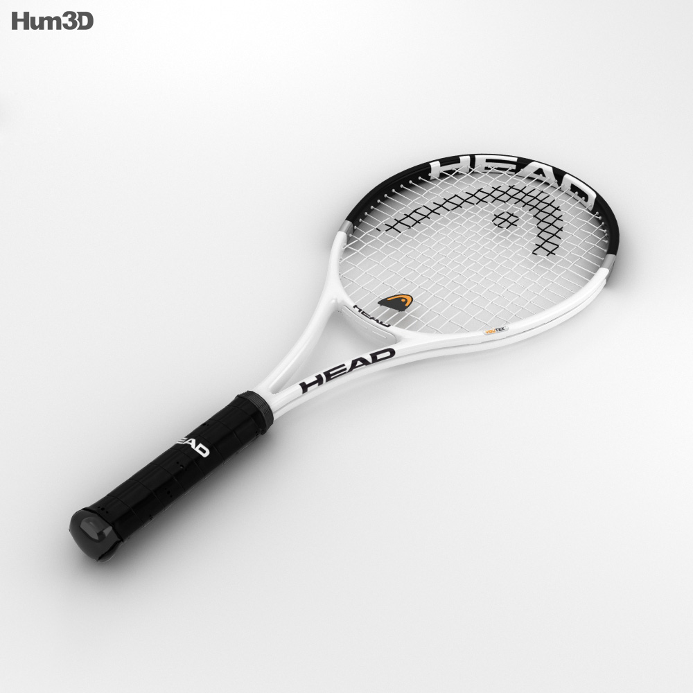 3D model of Tennis Racquet