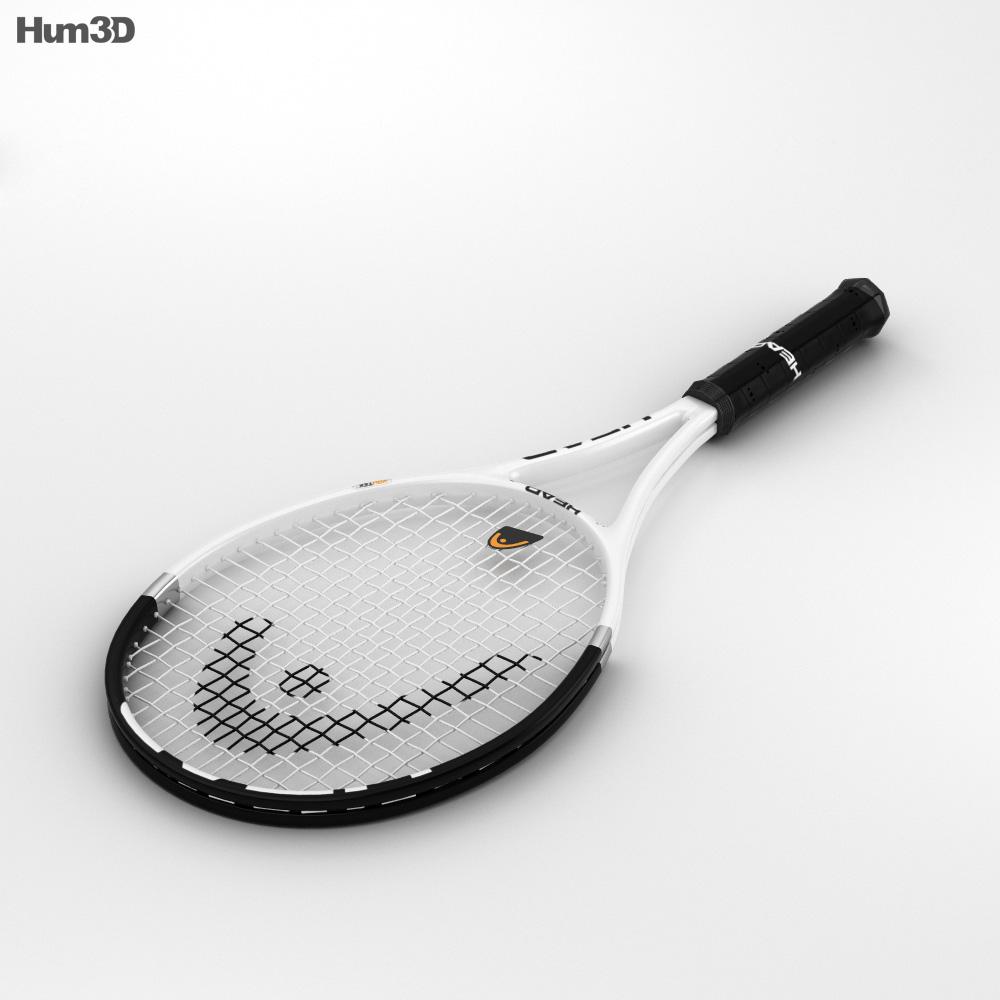 Tennis Racquet 3d model
