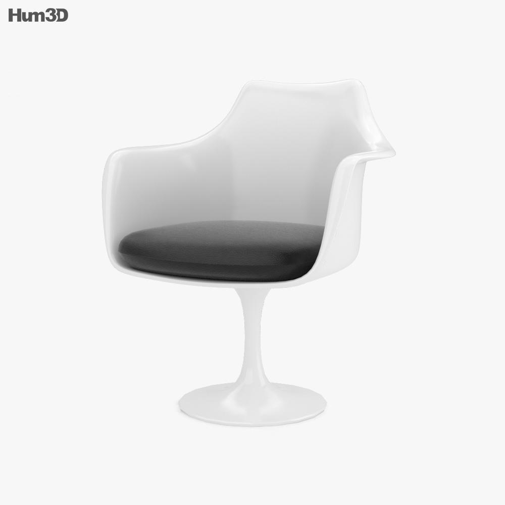 Tulip Chair 3d model