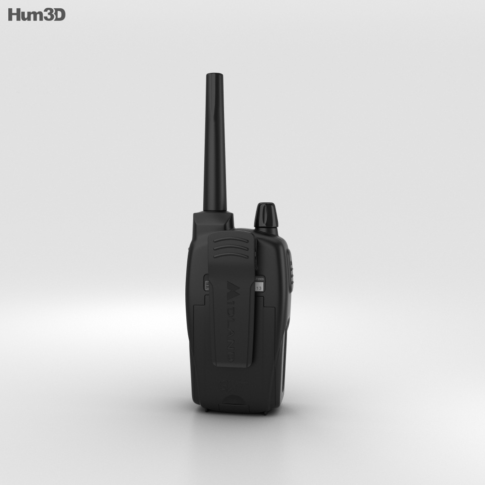 Walkie Talkie Midland 3d model