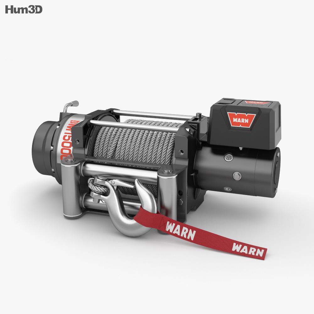 Winch 3d model