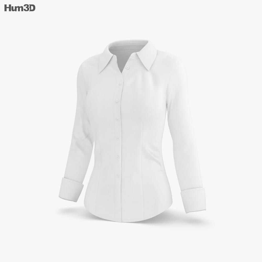 Women's Shirt 3d model