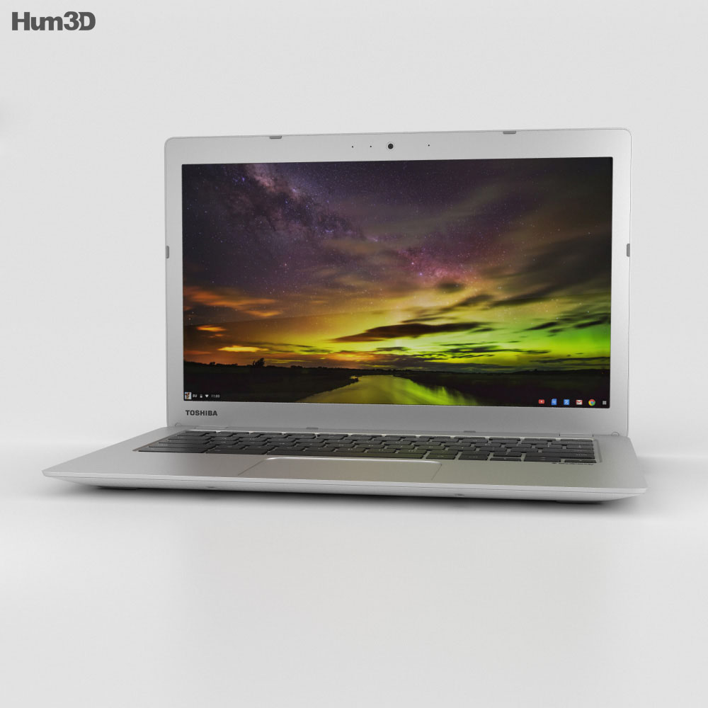 Toshiba Chromebook 2 3d model