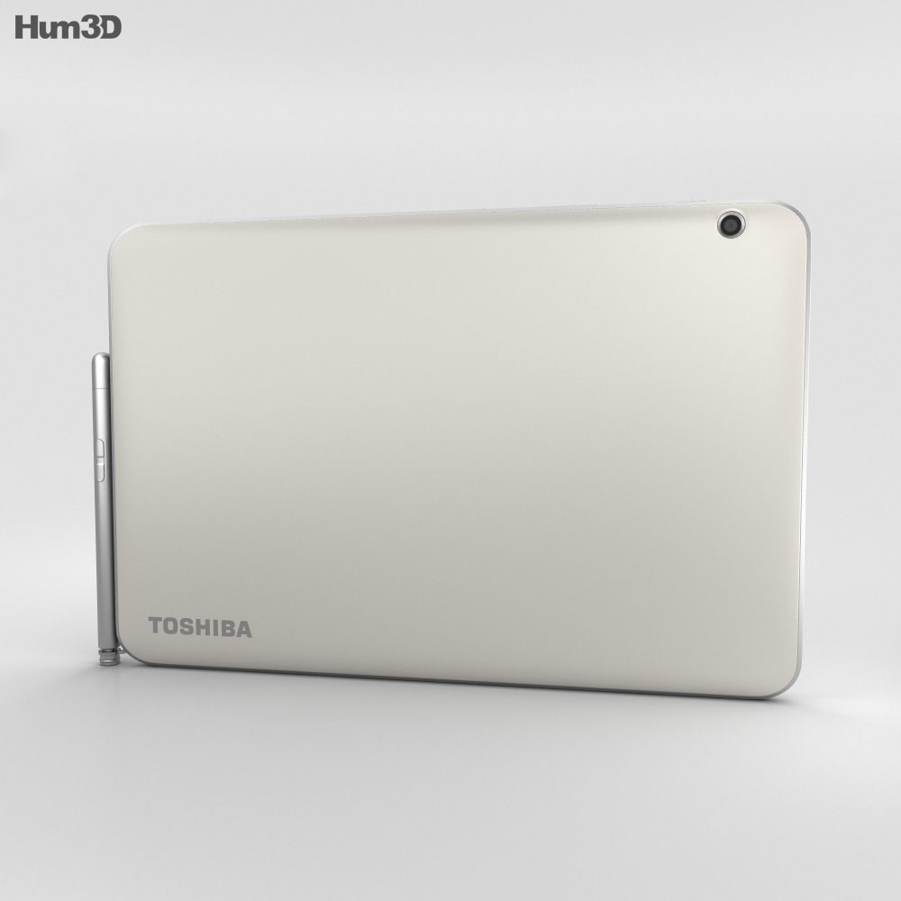 Toshiba Encore 2 10.1-inch Gold 3d model