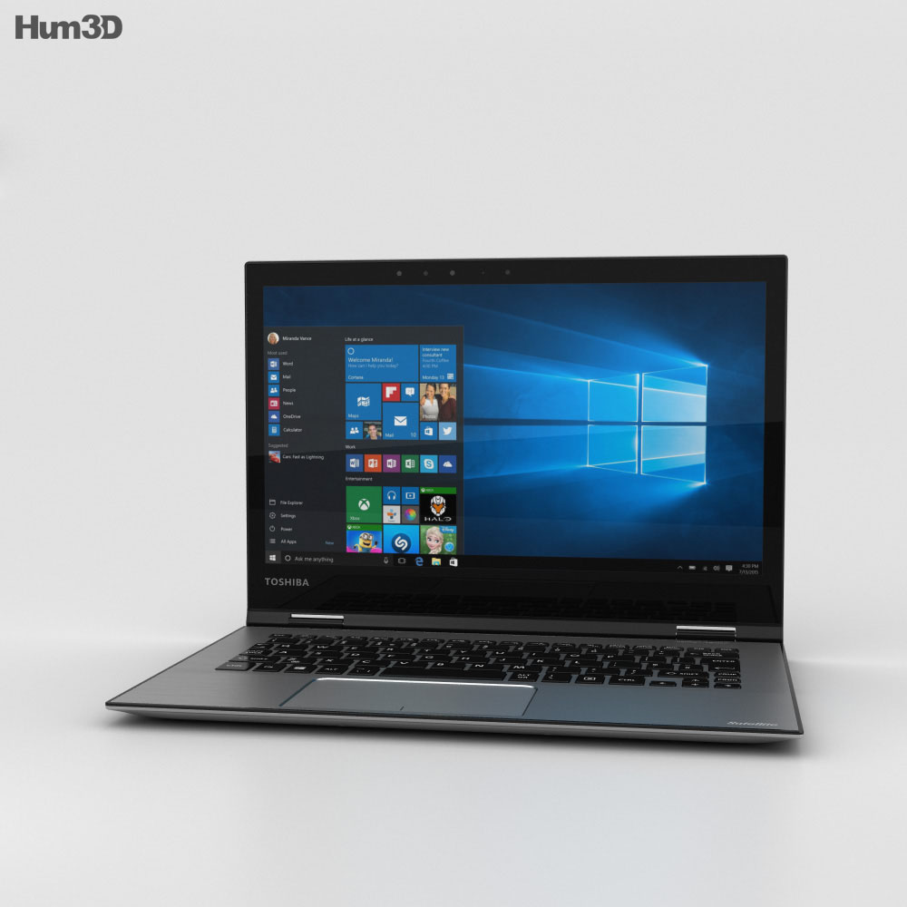 Toshiba Satellite Radius 12 3d model